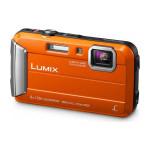 Camera foto digitala PANASONIC Lumix DMC-FT30EP-D, 16.1 Mp, 4x, 2.7 inch, portocaliu