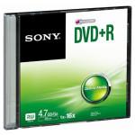 DVD+R SONY DPR47SS, 16x, 4.7GB, 1buc - Slim Case