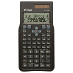 Calculator stiintific CANON F-715SG, 10+2 (calcule interne cu pana la 16 cifre), negru
