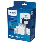 Kit accesorii pentru aspirator PHILIPS  Performer Compact FC8074/01, filtre, saci de praf si odorizant