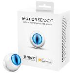 Senzor de miscare FIBARO FGBHMS-001, certificat Apple HomeKit, alb