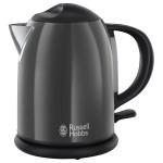 Fierbator de apa RUSSELL HOBBS 20192-70, 2200W, 1l, negru-gri