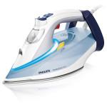 Fier de calcat PHILIPS PerfectCare Azur GC4910/10, SteamGlide Plus, 180g/min, 2400W, alb - albastru