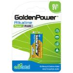 Baterie alcalina GOLDEN POWER Plus, 9V