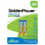 Baterii alcaline GOLDEN POWER Plus, R3(AAA), 2 bucati