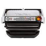 Gratar electric TEFAL OptiGrill+ GC712D34, 2000 W, 6 programe automate, argintiu