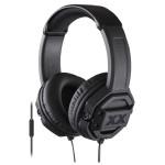 Casti on-ear cu microfon JVC HA-MR60X-E, negru