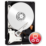 Hard Disk desktop WESTERN DIGITAL Red WD80EFZX, 8TB, 5400rpm, 128MB, SATA3