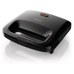 Prajitor de sandwich-uri PHILIPS Daily Collection HD2392/90, 820W, negru