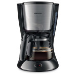 Cafetiera PHILIPS Daily Collection HD7435/20, 0.6l, 700W, negru - argintiu