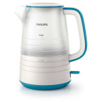 Fierbator de apa PHILIPS HD9334/11, 1.5l, 2200W, alb-albastru