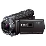 Camera video Full HD cu proiector incorporat SONY HDR-PJ810E, negru