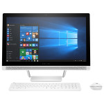 """Sistem All in One HP Pavilion 24-b150nq, 23.8"""" IPS Full HD, Intel® Core™ i5-6400T pana la 2.8GHz, 4GB, 1TB, NVIDIA GeForce 930MX 2GB, Windows 10 Home"""