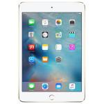 """Apple iPad mini 4, 32GB, Wi-Fi + 4G, A8, Ecran Retina 7.9"""", Gold"""