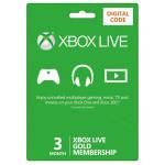 Card Xbox Live GOLD 3 luni Xbox 360 / Xbox One - cod digital