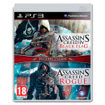 Assassin's Creed 4 Black Flag + Assassin's Creed Rogue Compilation PS3