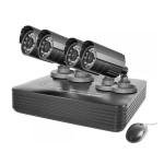 Kit supraveghere video PNI House PTZ1000S, 4 camere exterior