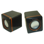 Boxe MYRIA KL-0049S, 2.0, 6W, negru