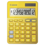 Calculator de birou CANON LS-123K, 12 cifre, galben