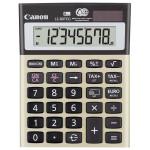 Calculator de birou CANON LS-80TEG, 8 cifre, gri-auriu