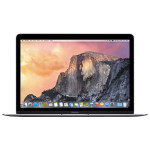 "Laptop APPLE MacBook 12"" Retina Display mjy32ze/a, Intel® Core™ M pana la 2.4GHz, 8GB, 256GB, Intel HD Graphics 5300, OS X Yosemite, Space Gray - Tastatura layout INT"