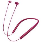 Casti in-ear cu microfon Bluetooth Hi-Res SONY MDR-EX750BTR, Wireless, roz
