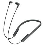 Casti in-ear cu microfon Sony MDR-XB70BTB, Wireless, Bluetooth, NFC, EXTRA BASS, Negru