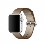 Bratara pentru APPLE Watch Seria 1, 38 mm, nylon, crem