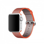 Bratara pentru APPLE Watch Seria 1, 38 mm, nylon, portocaliu