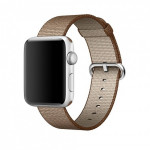 Bratara pentru APPLE Watch Seria 1, 42 mm, nylon, caramel