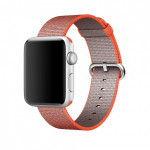 Bratara pentru APPLE Watch Seria 1, 42 mm, nylon, orange