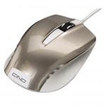 Mouse optic HAMA Cino, cu fir, USB, argintiu