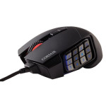 Mouse gaming CORSAIR Scimitar RGB - MMO, 12000 dpi, negru