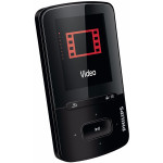 MP4 player PHILIPS SA4VBE08KF/12, 8GB, USB, negru