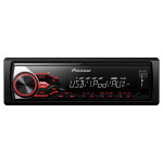Radio MP3 auto PIONEER MVH-180UI, 4x50W, USB, iluminare rosie