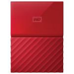 Hard Disk Drive WD My Passport WDBYFT0020BRD, 2TB, USB 3.0, rosu