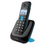 Telefon DECT MYRIA Space MY9002, digital, negru/albastru