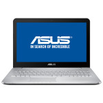 "Laptop ASUS N552VX-FY022D, Intel® Core™ i5-6300HQ pana la 3.2GHz, 15.6"", 8GB, 1TB, nVIDIA GeForce GTX 950M 4GB, Free Dos"