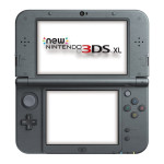Consola Nintendo New 3DS XL, 4.88 / 4.18 inch, negru metalic