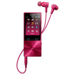 MP4 player Hi-Res SONY Walkman NW-A25HNP, 16GB, Noise-canceling, Bordeaux Pink
