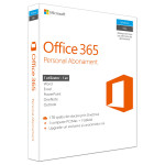 Microsoft Office 365 Personal, 32/64 bit, Romana EuroZone, Subscriptie 1 an, 1 PC/Mac, 1 Tableta, 1 Telefon