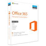 Microsoft Office 365 Personal, 32/64 bit, Engleza EuroZone, Subscriptie 1 an, 1 PC/Mac, 1 Tableta, 1 Telefon