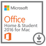 Licenta electronica ESD Microsoft Office Mac Home and Student 2016, AllLng EuroZone PK Lic Online DwnLd C2R NR