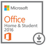 Licenta electronica ESD Microsoft Office Home and Student 2016, 32/64 bit AllLng EuroZone PKLic Onln DwnLd C2R NR