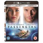 Pasagerii Blu-ray 4K