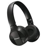 Casti on-ear cu microfon Bluetooth PIONEER SE-MJ553BT-K, negru