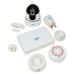 Kit SmartHome PNI KS003 - alarma wireless si supraveghere video, Aplicatie dedicata Android / iOS