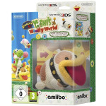 Poochy and Yoshi's Woolly World Amiibo Bundle 3DS (contine jocul + Figurina Amiibo Yarn Poochy)