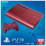 Consola SONY PS3 Slim 500GB, Blu-ray, rosie