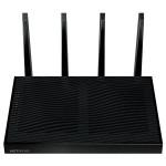 Router Wireless NETGEAR Gigabit Nighthawk X8 R8500 AC5300, Tri-Band 1000 + 2166 + 2166 Mbps, USB 3.0, USB 2.0, negru